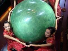 世界最大夜明珠亮相 (370播放)
