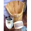 治风湿,用香柏木熏足桶泡脚,蒸脚桶批发