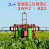 立兴农业机械 高地隙自走式三轮喷药机 玉米后驱前转向3WPZ-600