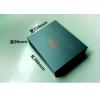 深圳金达利黑色特种纸茶叶盒子现货批发 触感纸翻盖盒+手提袋子