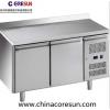 不锈钢风冷双门厨房保鲜冷藏冷冻平台柜工作台|GN2200TN