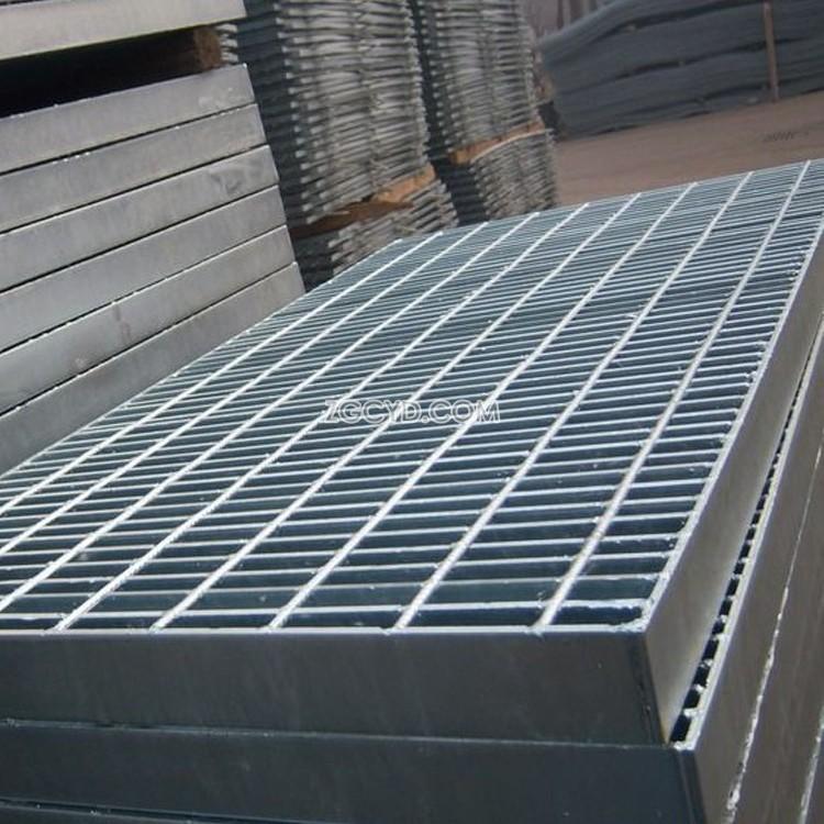 厂家促销热镀锌脚踏钢格栅板 水沟盖板平台洗车房钢格