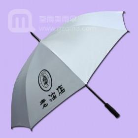【广州制伞厂】采购老油店广告伞_粮油杂店广告雨伞