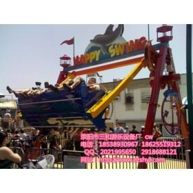 快乐秋千丨儿童游乐设备丨经典娱乐设备丨成本低收益好丨三和游乐