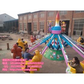 机械熊出没丨旋转升降游乐设备丨儿童游乐设备丨三和游乐制造