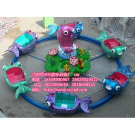 鲤鱼跳龙门丨小型儿童游乐设备丨水上轨道游乐设备丨畅销游乐
