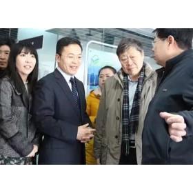 海尔集团首席执行官张瑞敏莅临绿天使众创空间参观指导