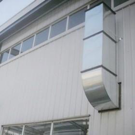鑫泽镀锌风管厂家 铁皮管角铁共板法兰风管 高质量