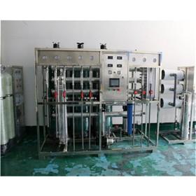 安徽铜陵市水处理设备丨铝氧化清洗去离子水设备