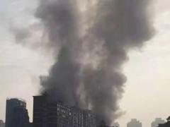 南昌一酒店发生火灾 己造成10人死亡