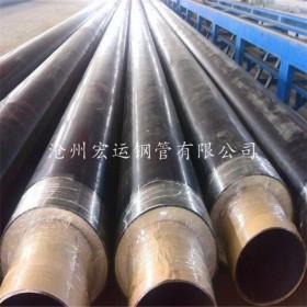 厂家直销预制直埋聚氨酯发泡保温钢管