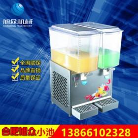 新款全自动冷热双用双缸冷饮机