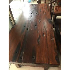 1米8老船木办公桌