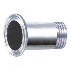 卡箍式丝扣接头 不锈钢管件 不锈钢接头