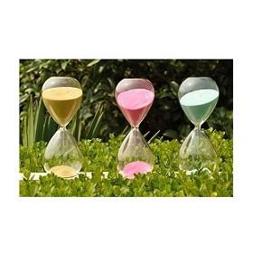 玻璃沙漏计时器