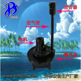 QXB5.5好氧硝化池增氧多向涌浪式离心潜水曝气机