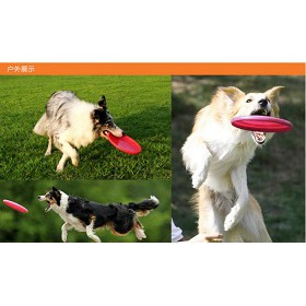 户外玩具宠物狗狗软飞盘