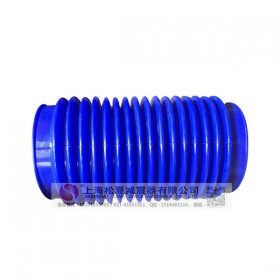 卡箍橡胶接头 硅橡胶卡箍接头 蓝色硅橡胶卡箍接头(来图定做)