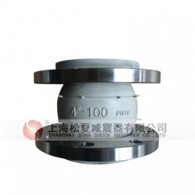 白色橡胶接头 食品级橡胶接头 可曲挠橡胶软接头 硅橡胶接头