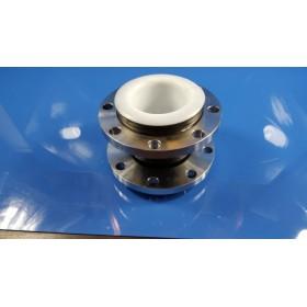 内衬四氟橡胶接头 可曲挠橡胶接头