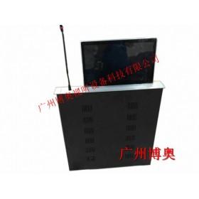 上海15.6寸无纸化会议升降终端 超薄升降一体机 桌面升降器