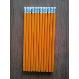 木质黄杆HB铅笔