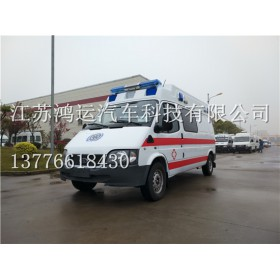 HYD5037XJH5全顺长轴救护车3