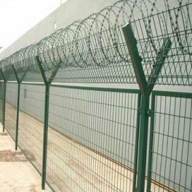 监狱Y型柱隔离网,Y型隔离网,螺旋形型刀刺网