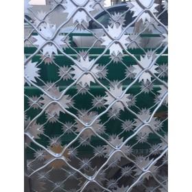 监狱梅花刺网,监狱钢网墙,防逃网,监狱围网产品