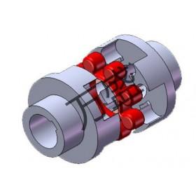 泊头LM系列梅花弹性联轴器生产基地