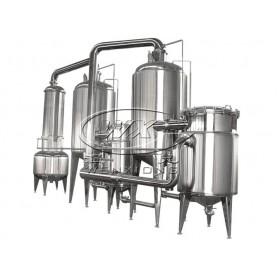 热泵外加热式双效浓缩器  浓缩设备厂家直销