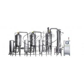 全自然热泵加热式三效浓缩器 浓缩设备厂家直销