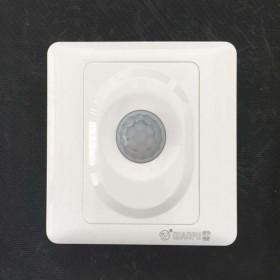 红外线人体感应节能led灯2线开关