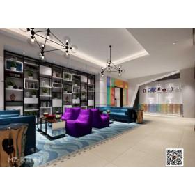 美式家居防滑面地板砖客厅大堂拼花地毯砖复古大花砖瓷砖