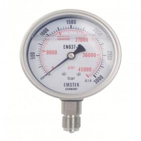 高压压力表TY-300型号表