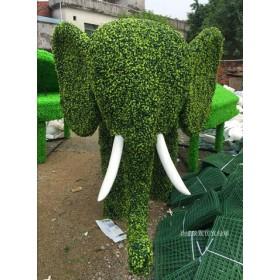特价定制仿真植物绿雕大象厂家生产