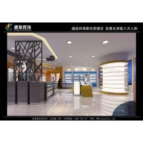 眼镜店面装修眼镜展柜设计制作哪家好河南通发装饰装修公司