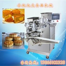 安徽月饼机 全自动新款SZ-64多功能月饼包馅机厂家上门安装