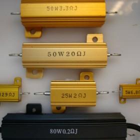 大功率电阻器、 80W铝壳梯形电阻 60RJ 阻值可找正阳兴