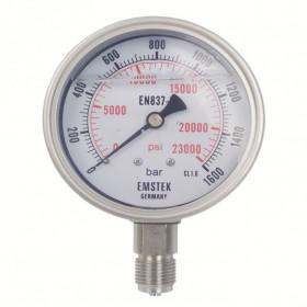 高压压力表TY-160结构讲解