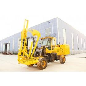 山东厂家30型装载式护栏打桩机低价促销