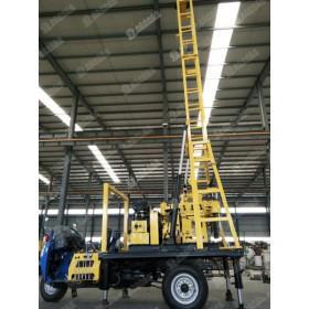 厂家供应三轮车载钻机 便利移动的高效率钻机