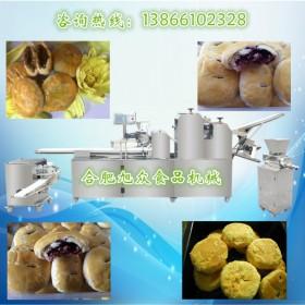 全自动酥饼机 安徽旭众XZ-15C三道擀面酥饼机免费上门安装