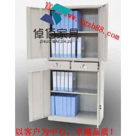 陕西钢制文件柜图片 文件柜价格 倬佰钢制柜生产26年