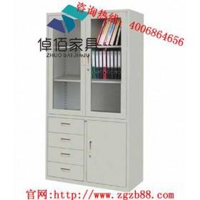 陕西钢制文件柜厂家批发 倬佰钢制文件柜环保健康 文件柜品牌