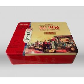 河北铁盒厂加工定制扒鸡铁盒包装 包装盒定制厂家