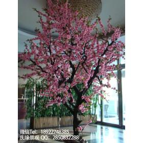 广州特价定制仿真桃花树厂家生产