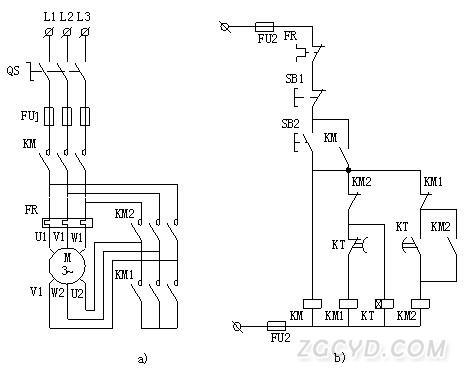 """电路中,作为电动机的起动之用,起动器设有空气延时头,可自动进行""""星"""