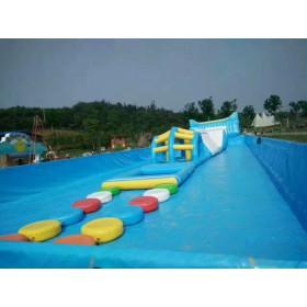 儿童水上娱乐设备水上冲关设备厂家充气水上蹦床价格