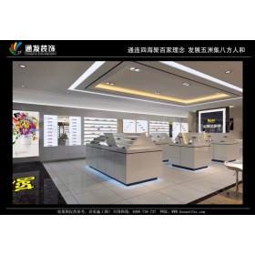 商场眼镜店装修视光中心烤漆快时尚展柜制作公司河南通发装饰